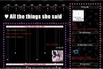 o7 ; all the things she said * bloodstained-