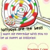 #02 As Sweet As Lollipop
