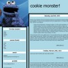 cookie monster! simple version! 2nd version!