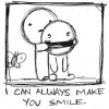 i can always make you smile (: