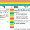 you found me | yours faithfully