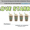 I LOVE STARBUCKS ! ~~ //