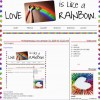 Love is like a rainbow