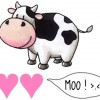 m/ Cow says moo ;