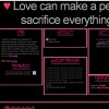Love can make a person sacrifice  everything