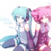 Hatsune Miku and Kasane Teto