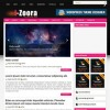 Izoora wordpress theme