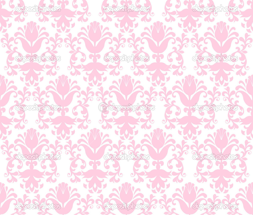 light pink floral background - photo #6
