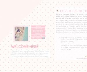 blogskin kawaii, blogskin cute, pink, blogskin pink, skin pink