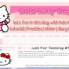 #25 Hello Kitty Bloggie