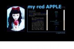 MY RED APPLE [snow white] .::stupid::.