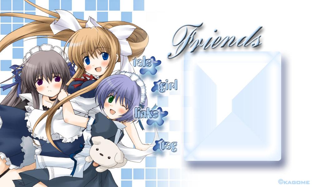 anime best friends forever group